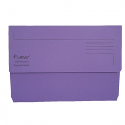 Guildhall Purple Bright Manilla Wallet Foolscap (Pack of 25) 211/5005