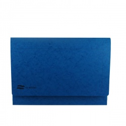 Europa A3 Document Wallet 32mm Capacity Dark Blue 4785