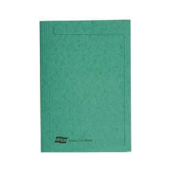 Europa 300micron Square Cut Folder Foolscap Green 4823