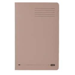 Elba Square Cut Folder Medium-weight Foolscap 290gsm Buff 100090216