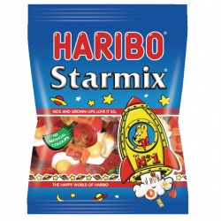 Haribo Starmix 160g Bag (Pack of 12) 73073