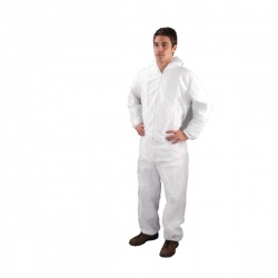 HPC Non-Woven Coverall X Large White DC03
