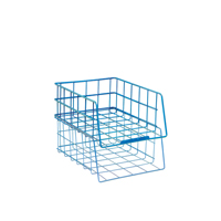 Wire Filing Tray A4 Large Capacity Blue WB999BL