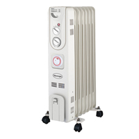 Silentnight 1.5kW Oil Filled Radiator with Timer 38140