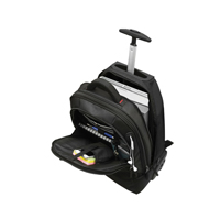 Motion II 2 In 1 Wheeled Black Laptop Backpack 3207