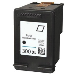 HP CC641EE (300XL) Black Ink Cartridge - Remanufactured