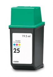Remanufactured HP 51625AE (25) Colour Ink Cartridge