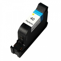 HP 51640YE (40) Yellow Ink Cartridge - Remanufactured