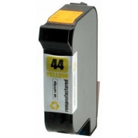 HP 44 (51644Y) Yellow Ink Cartridge - Remanufactured