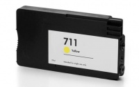 HP CZ132A (711) Yellow Pigment Ink Cartridge - Compatible