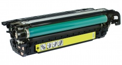 Remanufactured HP CE262A Yellow Toner Cartridge