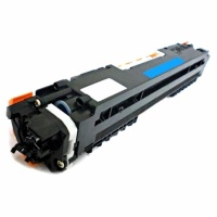 HP CE311A (126A) Cyan Toner Cartridge - Remanufactured