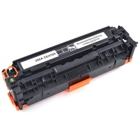HP CE410A (305A) Black Toner Cartridge - Remanufactured