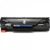 HP CF283A (83A) Black Toner Cartridge - Compatible