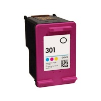 HP 301 (CH562EE) Tri-Colour Ink Cartridge - Remanufactured