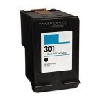 HP CH561EE (301) Black Cart 190 pages - Remanufactured