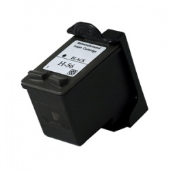 HP C6656AE (56) Black Ink Cartridge - Remanufactured