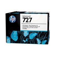 HP 727 Matte Black, Photo Black, Cyan, Magenta, Yellow, Grey Designjet Printhead B3P06A