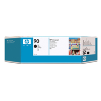 HP 90 Black High Yield Inkjet Print Cartridge (Pack of 3) C5095A