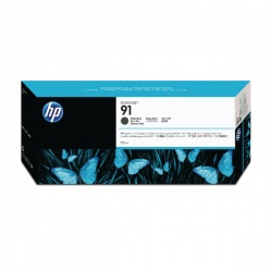 HP 91 Matte Black Inkjet Cartridge C9464A