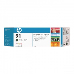 HP 91 Photo Black Inkjet Cartridge (Pack of 3) C9481A