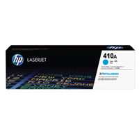 HP 410X High Yield Cyan LaserJet Toner Cartridge CF411X