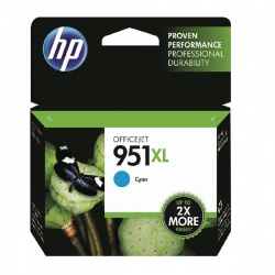 HP 951XL Cyan Officejet Inkjet Cartridge CN046AE