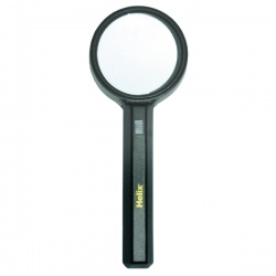 Helix 75mm Illuminated Magnifying Glass Black MN1025