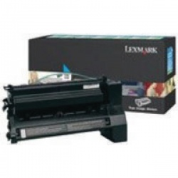 Lexmark Cyan Return Program Toner Cartridge Extra High Yield C782X1CG