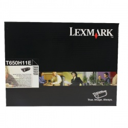 Lexmark Black Toner Cartridge High Yield T650H11E