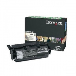 Lexmark Black Return Program Toner Cartridge High Yield T650H04E