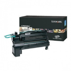 Lexmark Cyan Toner Cartridge Extra High Yield C792X1CG