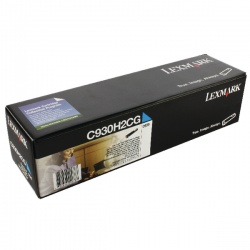 Lexmark Cyan Toner Cartridge High Yield C930H2CG