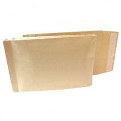 New Guardian Armour Gusset Envelope 470x300x70mm Manilla 130gsm Peel and Seal (Pack of 100) B28513