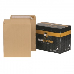 New Guardian Envelope C3 457 x 324mm 130gsm Peel and Seal Manilla (Pack of 125) C27013