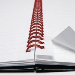 Black n' Red A5 Matte Wirebound Matt Hardback Notebook 140 Pages Ruled Feint (Pack of 5) 846354906