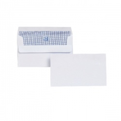 Plus Fabric Envelope 89 x 152mm 110gsm Self Seal White (Pack of 500) F21870