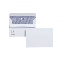 Plus Fabric Envelope C6 110gsm Self Seal White (Pack of 500) F23470
