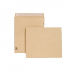 New Guardian Envelope 330 x 279mm 130gsm Manilla Peel and Seal (Pack of 125) H23213