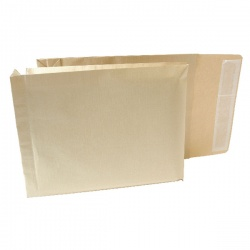 New Guardian Armour Gusset Envelope 330x260x50mm Manilla 130gsm Peel and Seal (Pack of 100) J28203