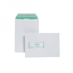 Basildon Bond C5 Envelopes Window 120gsm Peel and Seal White J80119 Garden Voucher Prize Draw