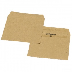 New Guardian Wage Envelope 108 x 102mm Plain 80gsm Manilla Self Seal (Pack of 1000) L20219