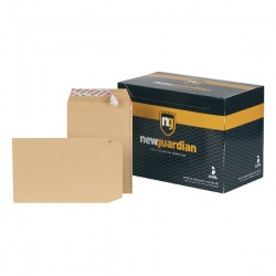 New Guardian C5 Envelopes 130gsm Manilla Peel and Seal (Pack of 250) L26039