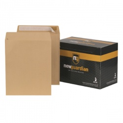 New Guardian Envelope 305 x 250mm 130gsm Manilla Peel and Seal (Pack of 250) L27103