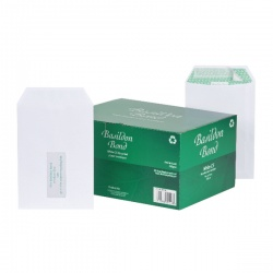 Basildon Bond C5 Envelopes 120gsm Peel and Seal White (Pack of 500) L80118 Garden Voucher Draw