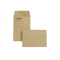 New Guardian Envelope 98 x 67mm 80gsm Manilla Gummed (Pack of 2000) M24011