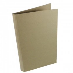 Guildhall Buff Square Cut Heavyweight Folder Foolscap (Pack of 100) 44202