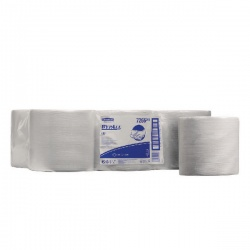Wypall Wipers 1- Ply Centrefeed Roll White (Pack of 6) 7266