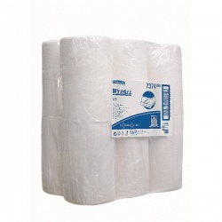 Wypall L10 Wipers Mini Centrefeed White Roll 1 Ply (Pack of 12) 7374