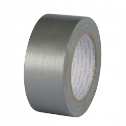 Q-Connect Silver Duct Tape 48mm x 25m Roll KF00290